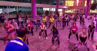 mulheres se exercitando em Barueri para o Desafio das 12 Semanas