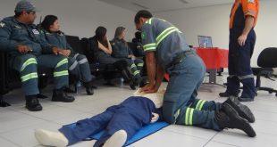Defesa Civil de Barueri realiza treinamento com noções de primeiros socorros a agentes do Demutran