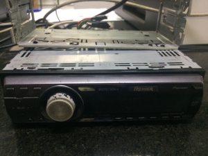 rádio furtado pela dupla