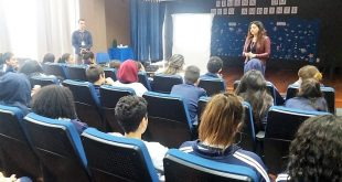 alunos da Escola Alexandrino participam de atividade de conscientização na Semana do Meio Ambiente