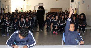 alunos da Emef José Leandro Pimentel participam da 1ª Grande Copa das Operações