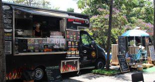 um food truck participando do Festival Gastronômico Food Truck Praças