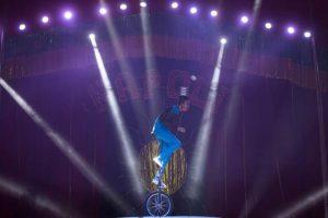 espetáculo do Circo Di Napoli