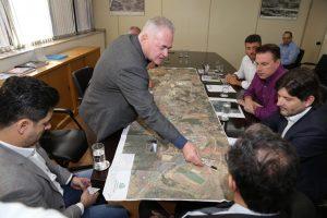 reunião sobre a estrada Elias Alves da Costa