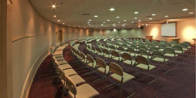 vista da Sala Auditorium do Comfort Suites e Radisson Alphaville