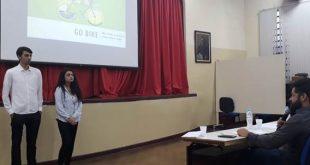 alunos do centro paula souza apresentam projeto para jurados no programa pense grande