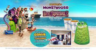 banner de divulgação da promoção Viagem Monstruosa, da Cinépolis