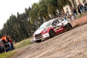 Peugeot 208 Maxi Rally na pista