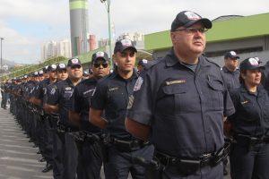 guardas civis de barueri em forma