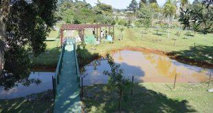 vista de lagoa no residencial Morada das Lagoas