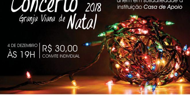 convite do iii concerto granja viana de natal