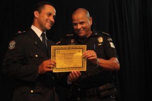 guarda de barueri recebendo certificação
