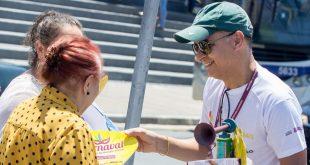 Equipe da Saúde realiza ação de conscientização para o Carnaval