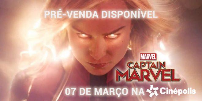 Cinépolis Iguatemi Alphaville anuncia pré-venda de Capitã Marvel, a primeira heroína solo do MCU