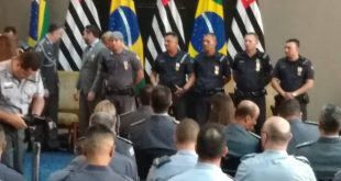 Guarda Municipal recebe Homenagem no Palácio dos Bandeirantes