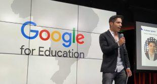 Professor de Barueri leva experiência de sucesso para evento nacional do Google