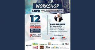 Workshop LGPD: Impactos e desafios da nova Lei Geral de Proteção de Dados