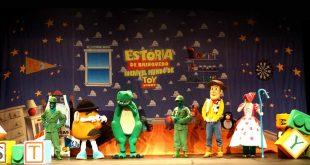 """""""Amigo Estou Aqui – O Incrível Mundo de Toy Story"""" é atração na Sala de Espetáculos de Barueri"""