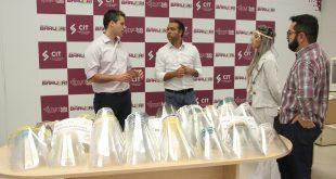 Centro de Inovação e Tecnologia de Barueri doa 500 protetores faciais ao Hospital Municipal